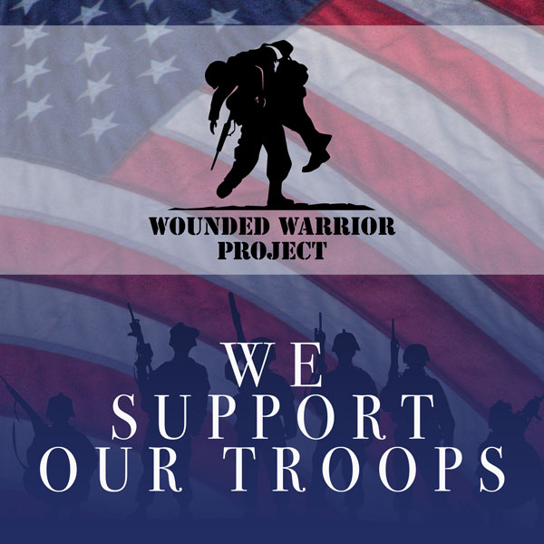 Liberty Moves Supports Our Troops by donating to the Wounded Warrior Project